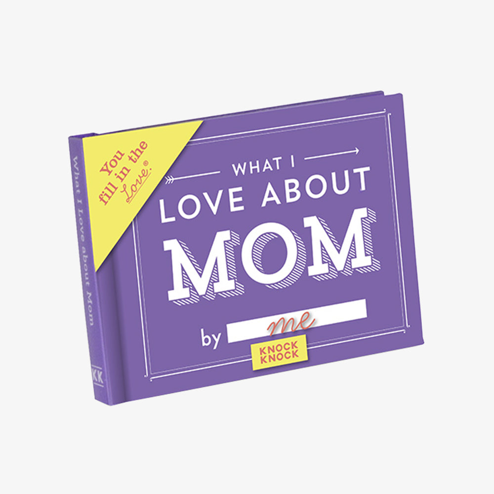 KnockKnock what i love about mom journal cover