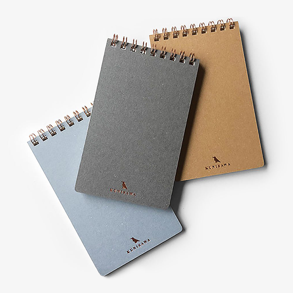 Kunisawa Find Pocket Note Mini Spiral Notebook assorted colors