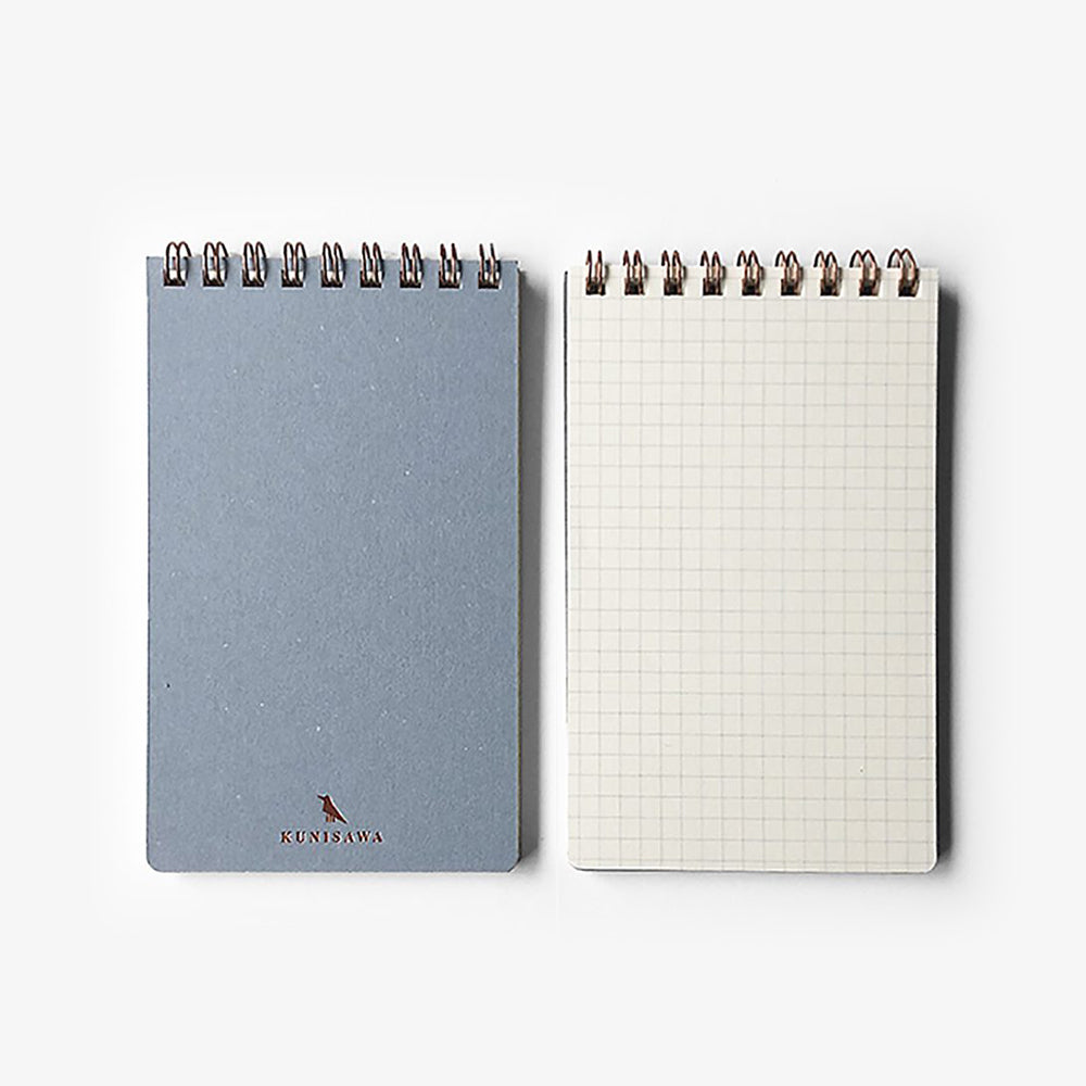 Kunisawa Find Pocket Note Mini Spiral Notebook inside