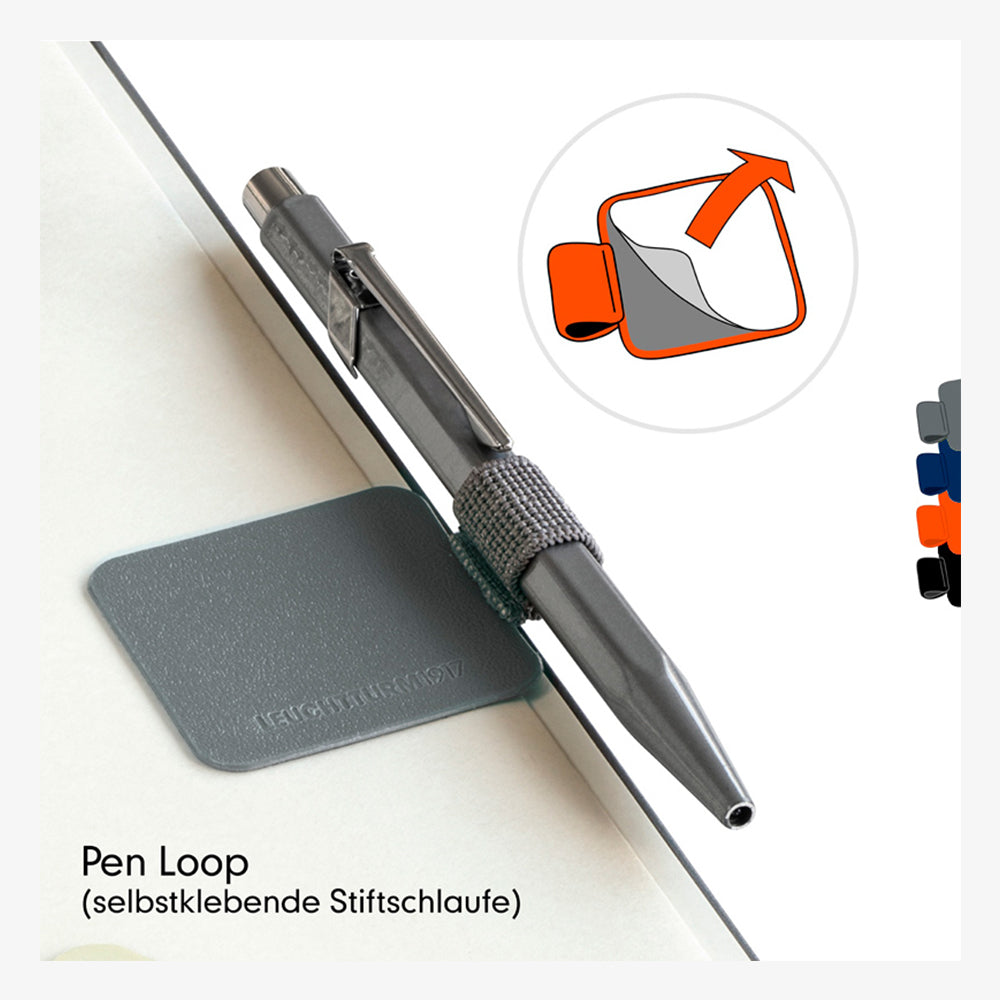 Leuchtturm1917 Pen Loop anthracite grey in context