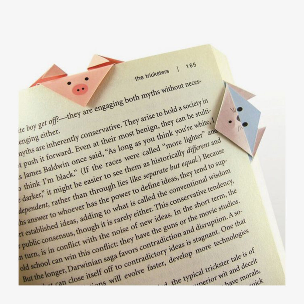 Animals Magnetic Origami Bookmarks in context