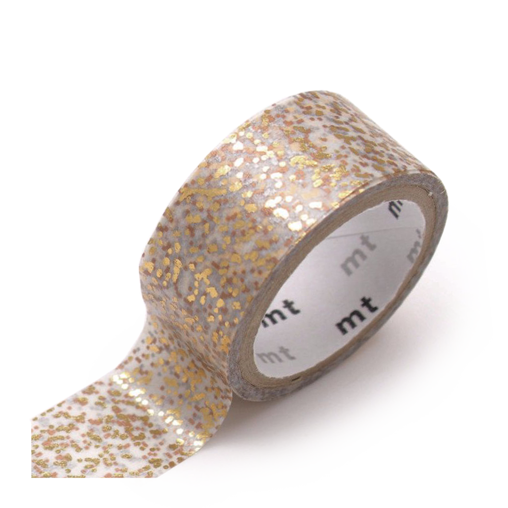 mt washi tape gold particle