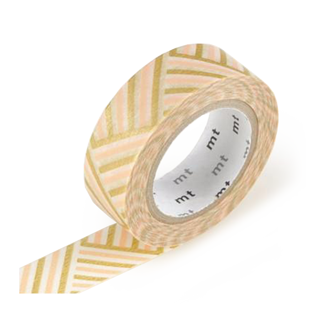 mt washi tape peach