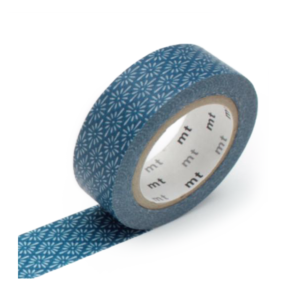 mt washi tape hanabishi blue