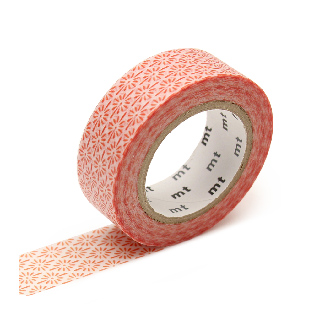 mt washi tape hanabishi white