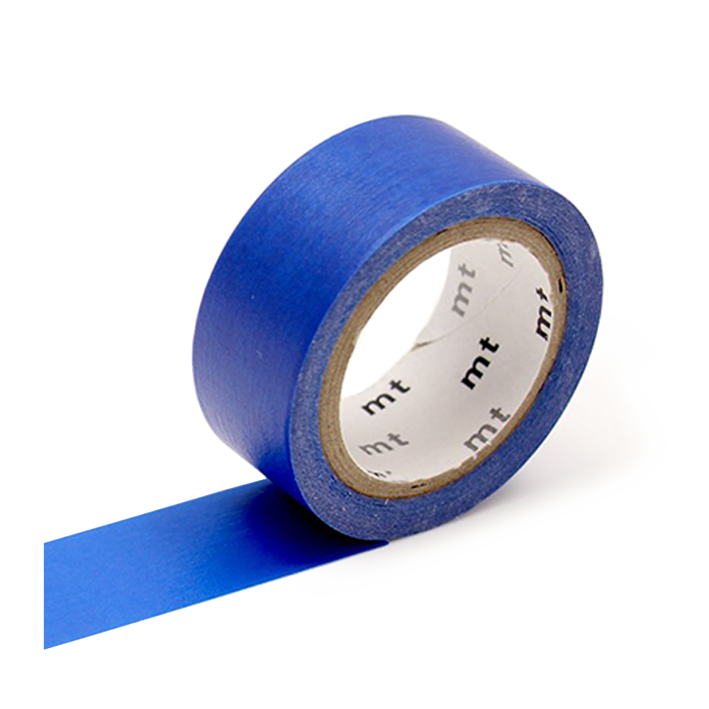 mt washi tape flourescent cyan