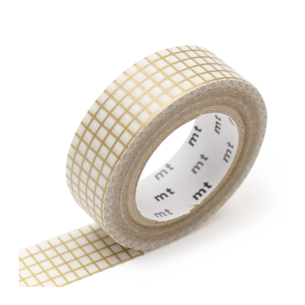 mt washi tape gold graph