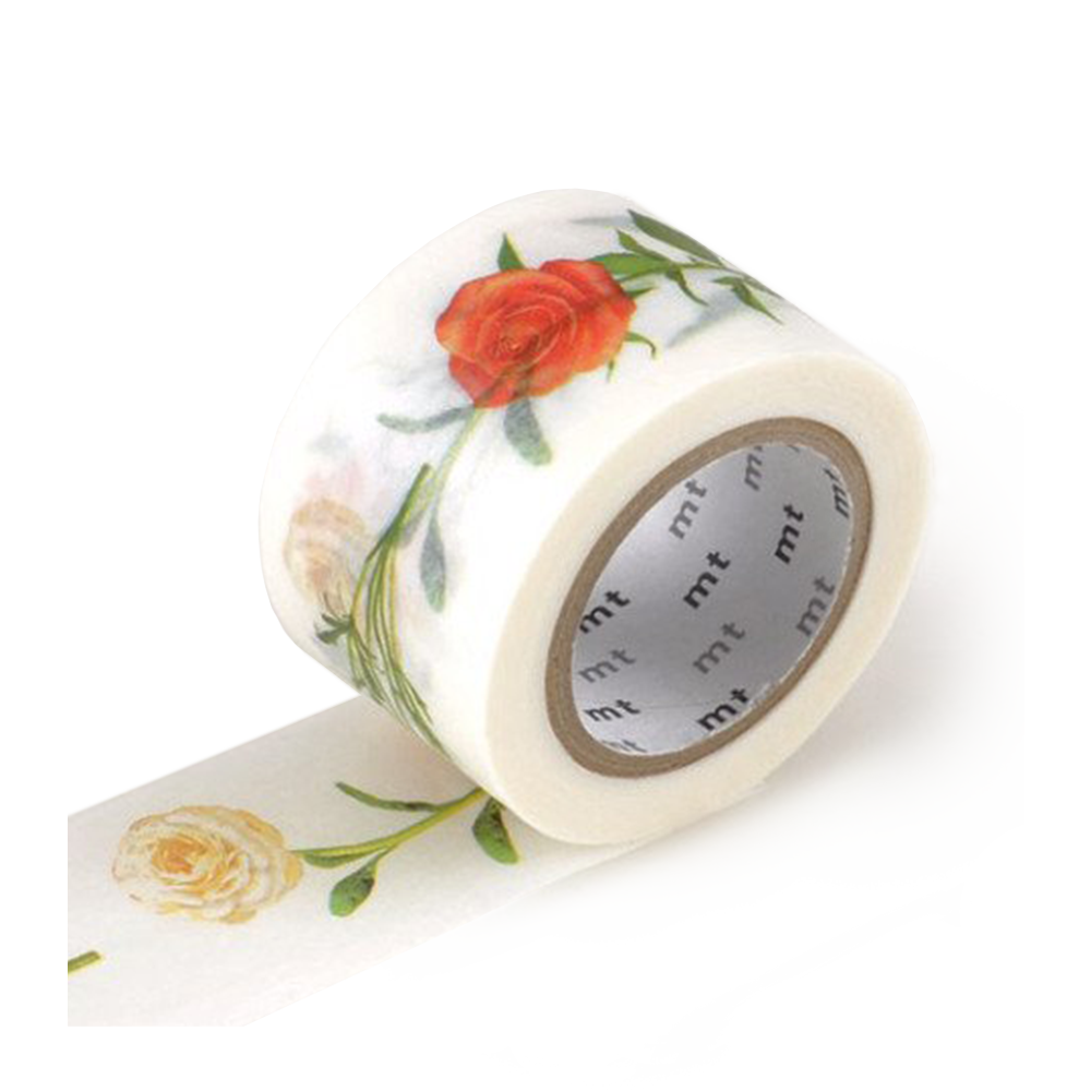 mt washi tape hana floral