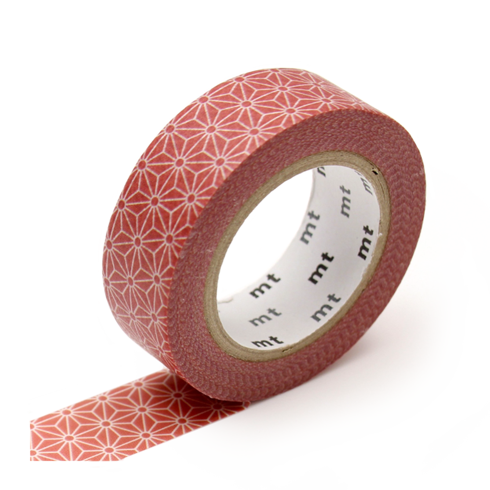 mt washi tape morning field red