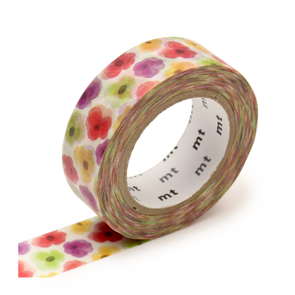 mt washi tape pansy