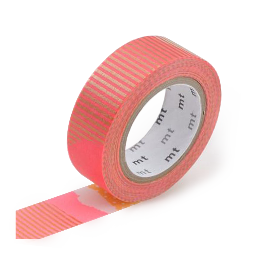 mt washi tape patch warm red