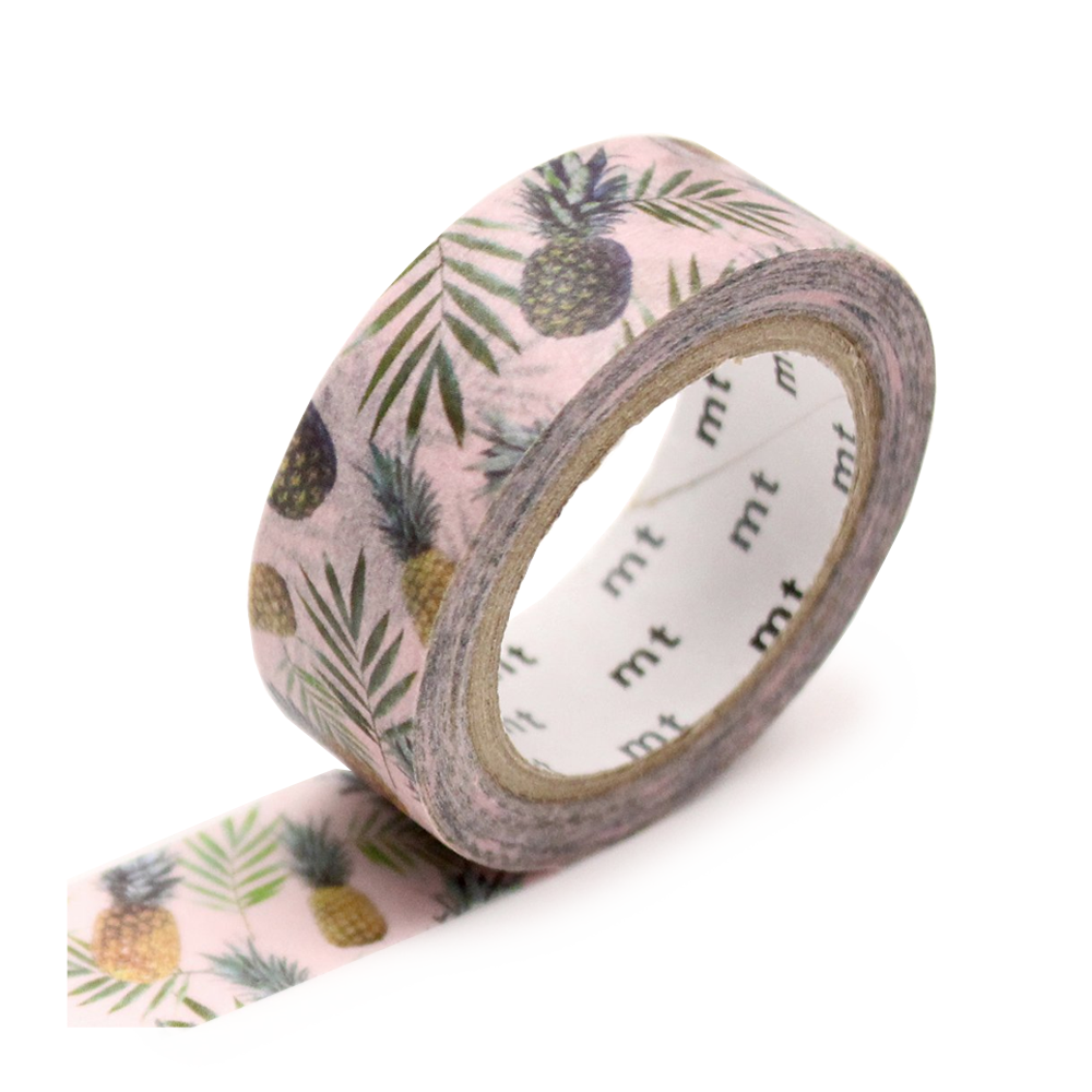 washi tape pineapple