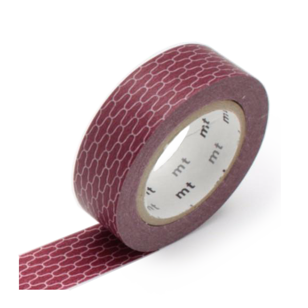 mt washi tape wicker rust