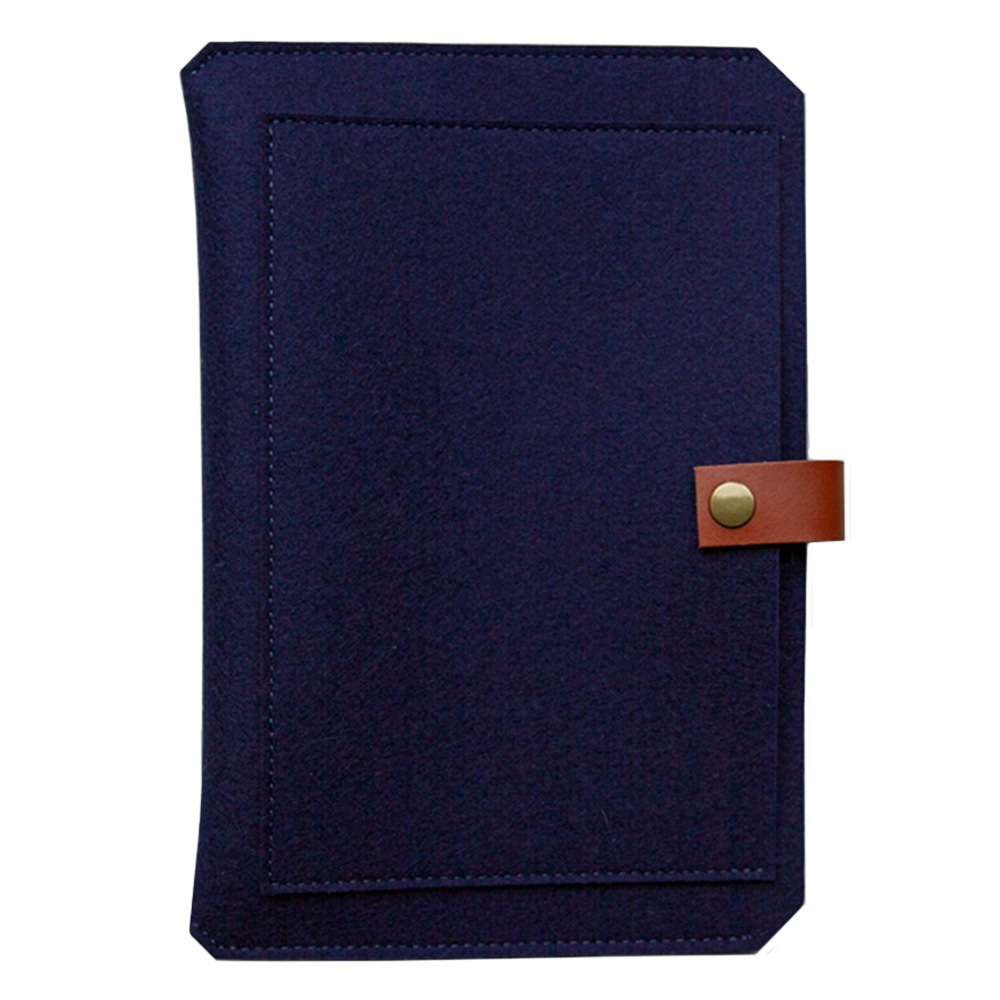 Custom Planner/Book Sleeve navy