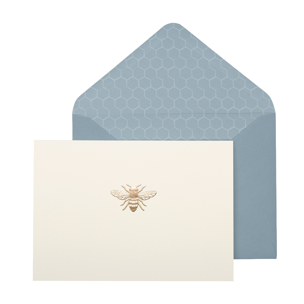 portico bee card set