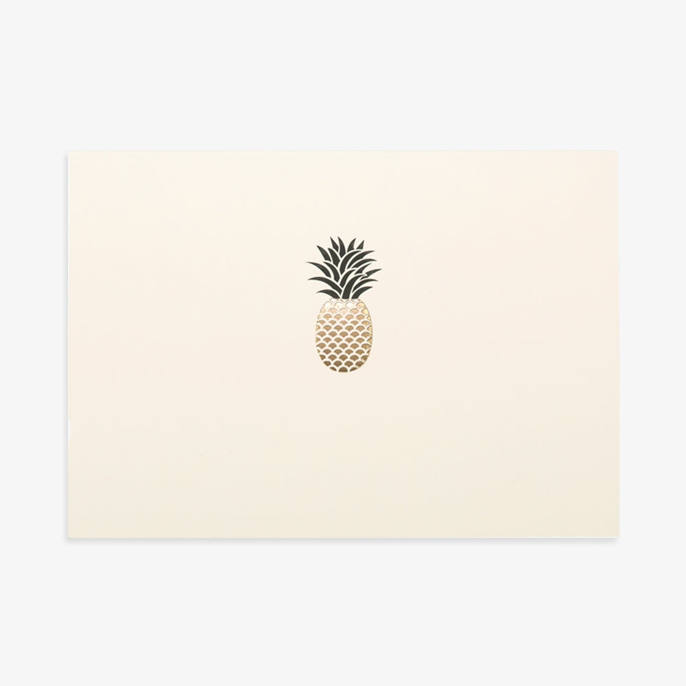 Portico pineapple card