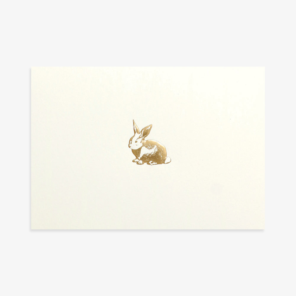 Portico rabbit card
