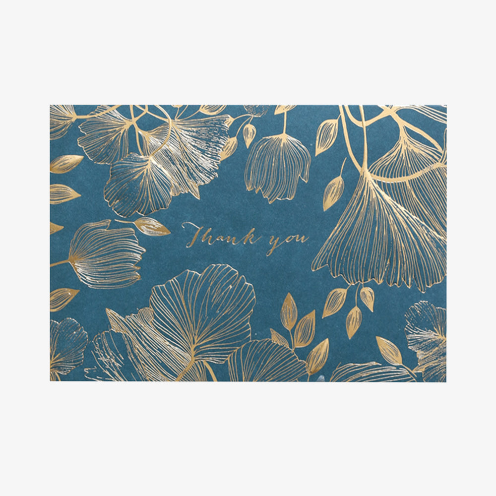 Portico summer leaves card