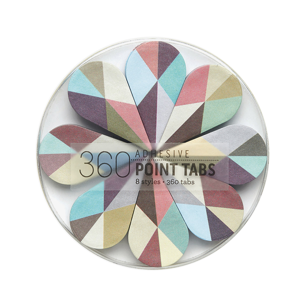 Adhesive point tabs serenity
