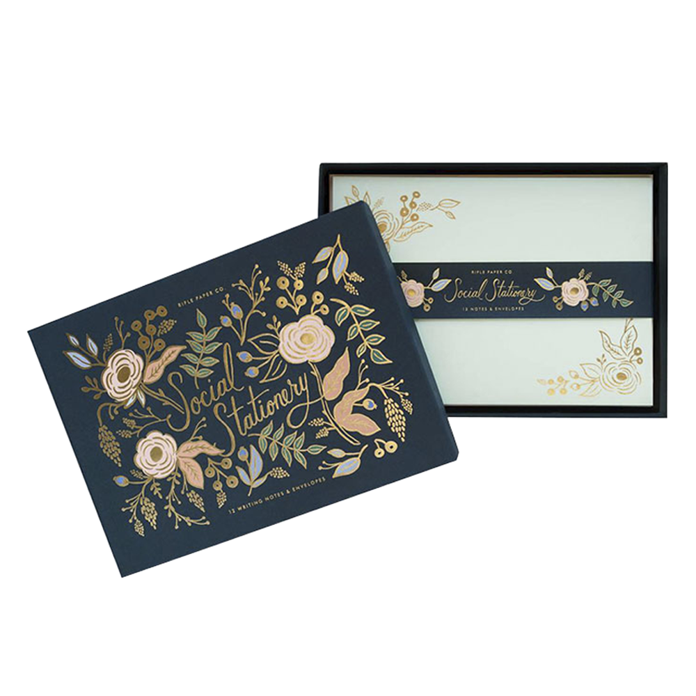 Rifle Paper Co colette box card set