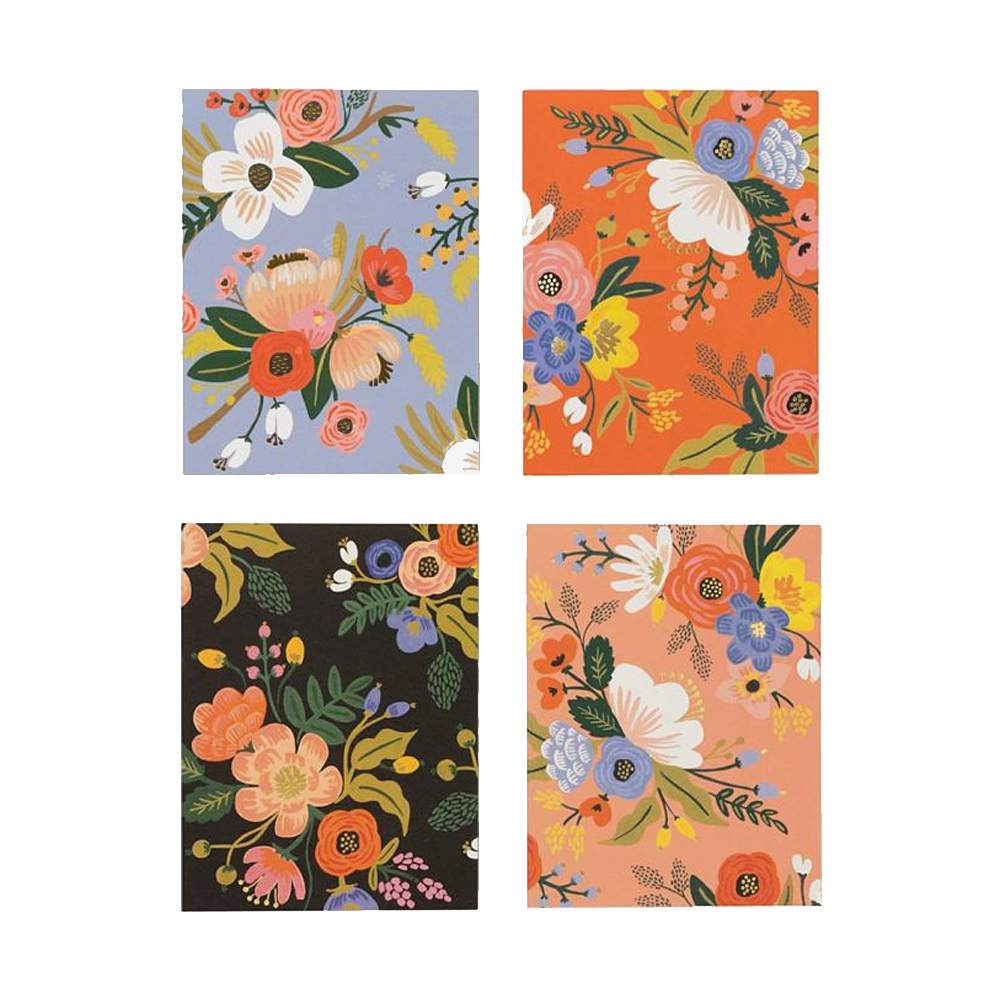 Rifle Paper Co lively floral 8pack card set