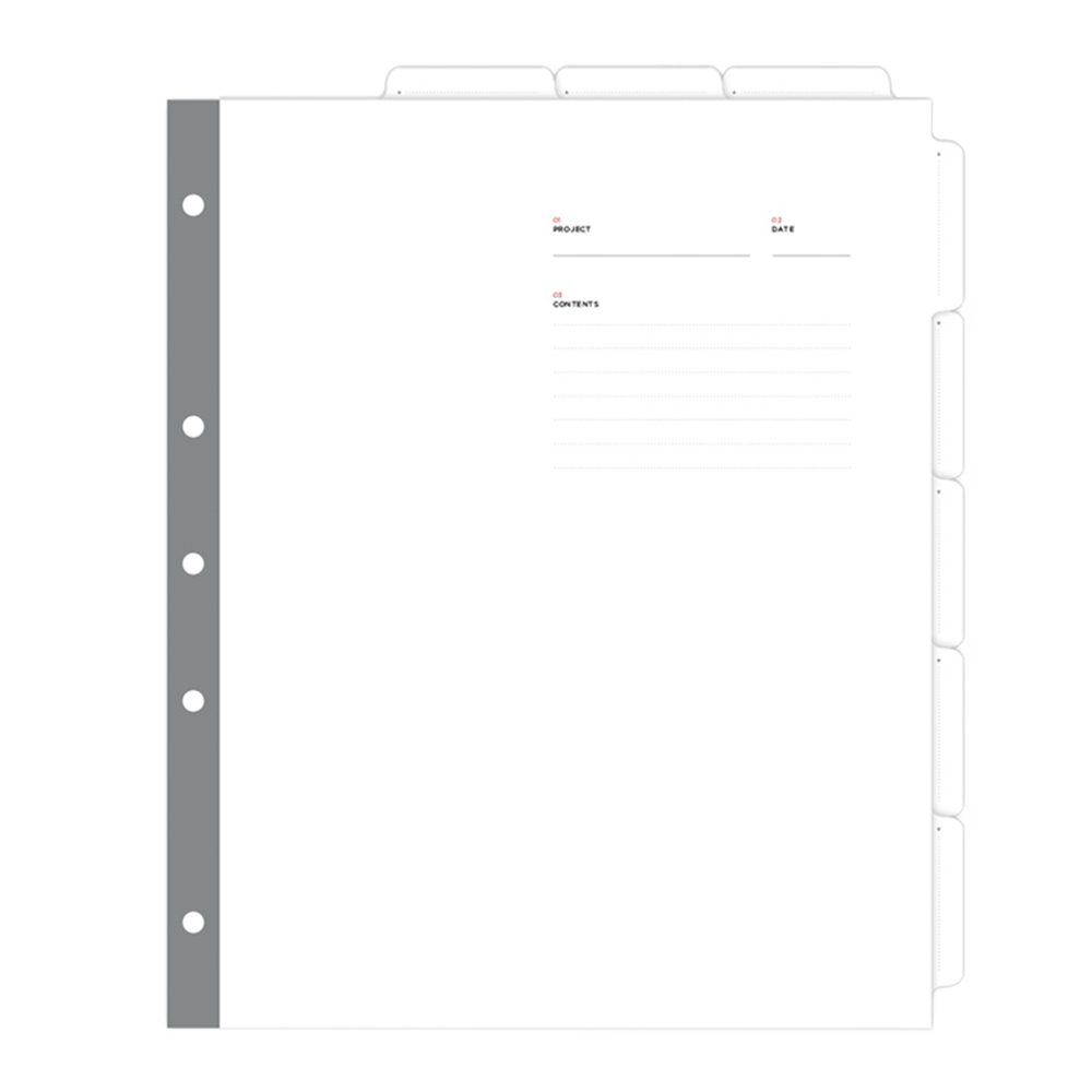 Binder 8 Tab Dividers