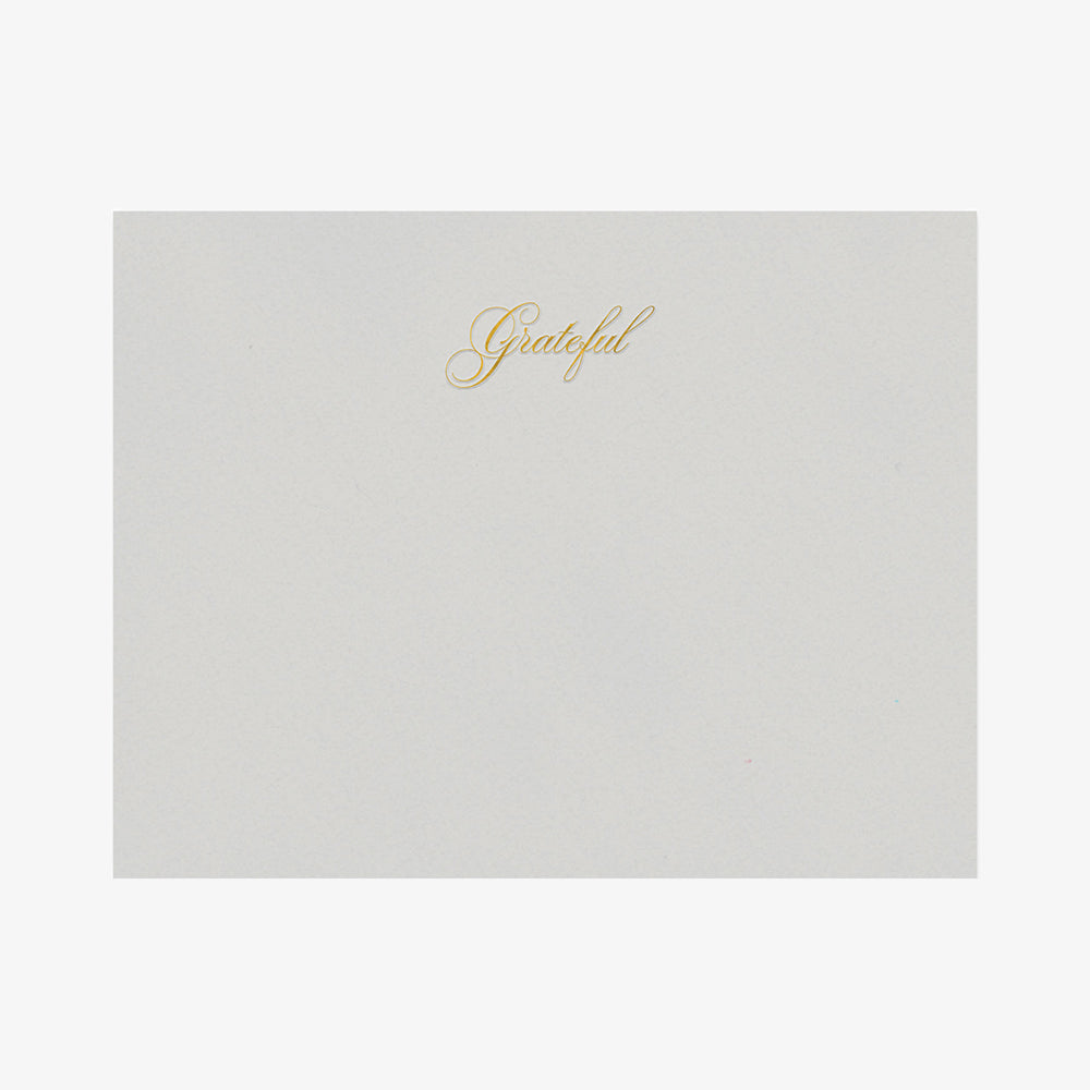 Smitten on Paper grateful classic card