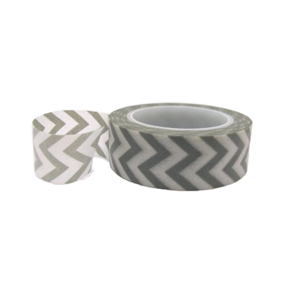 Washi tape grey chevron
