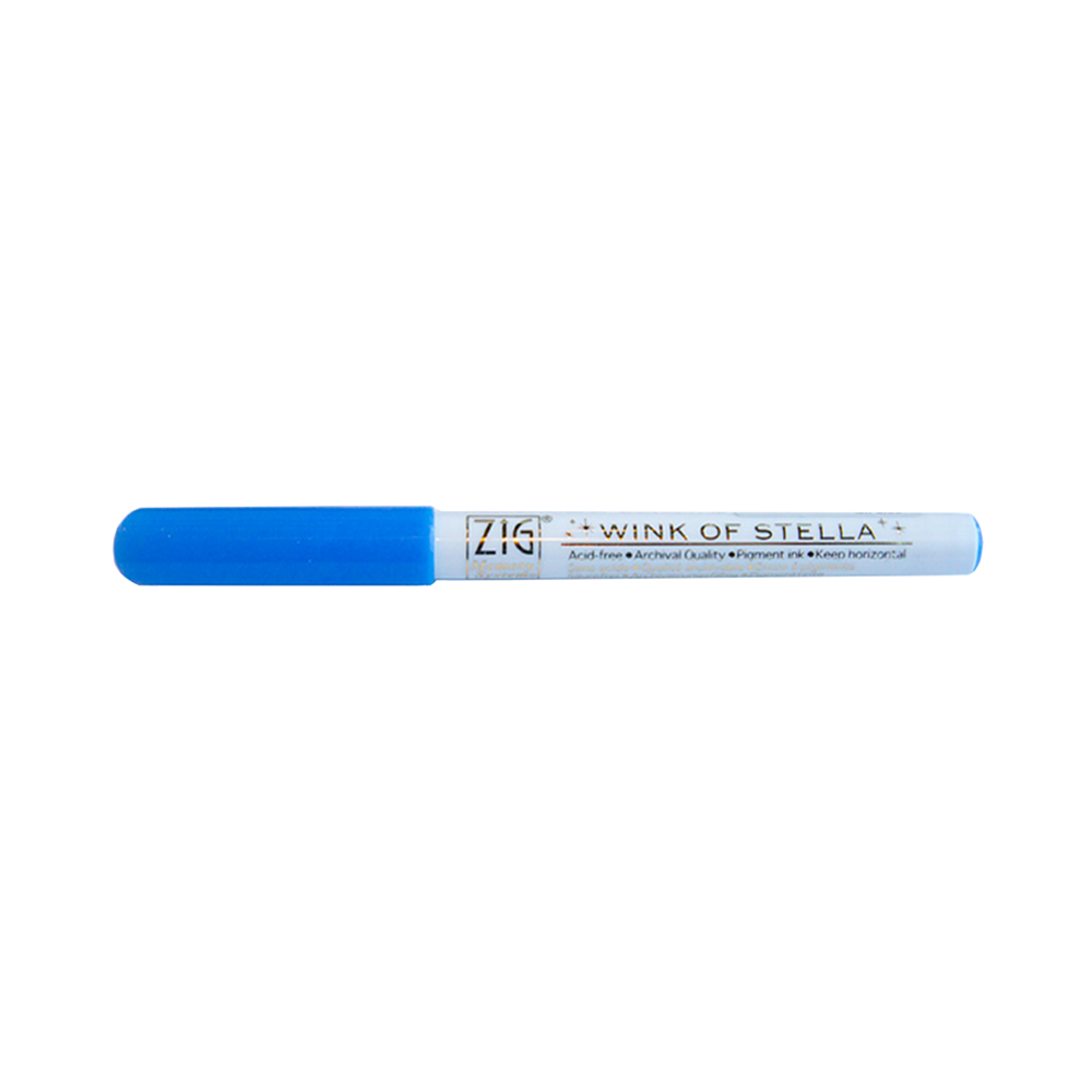 Wink of Stella Glitter Pen blue