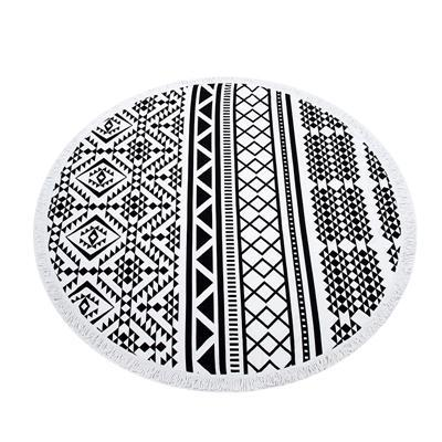 Nirvana Life Family Tribal / 60 in Round Beach Towels