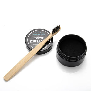 Nirvana Life Home Decor Activated Bamboo Charcoal Teeth Whitening Set