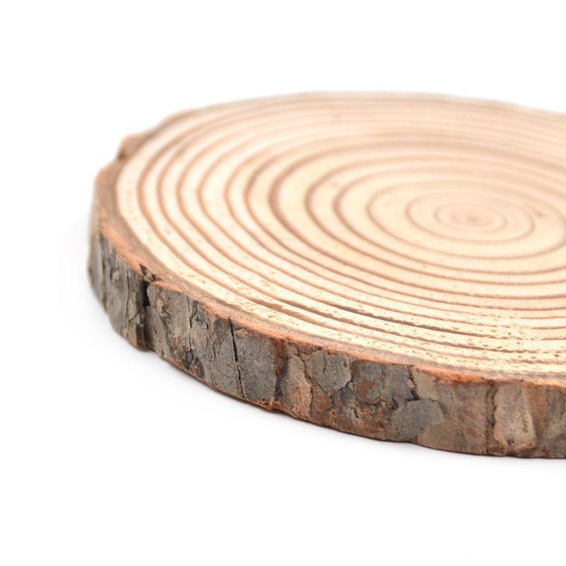 Nirvana Life Home Decor Natural Wood Bark Coasters