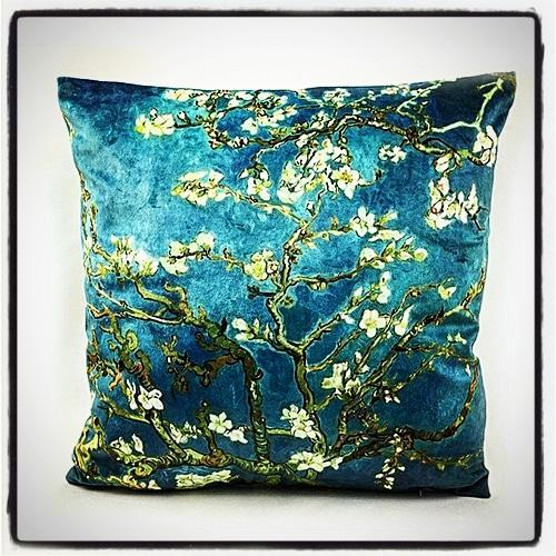 Nirvana Life Home Decor Van Gogh's Almond Blossom Fine Velvet Cover