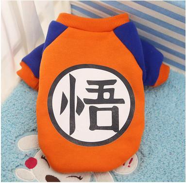 Nirvana Life pets DBZ Goku / S Cartoon Pet Sweaters