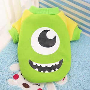 Nirvana Life pets Mike - Monsters Inc / XS Cartoon Pet Sweaters