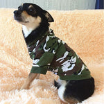 Nirvana Life Pets Military Camo / XS Fun Pet Sweatshirts