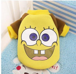 Nirvana Life pets Sponge Bob / XS Cartoon Pet Sweaters