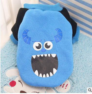 Nirvana Life pets Sullivan - Monsters Inc / XS Cartoon Pet Sweaters