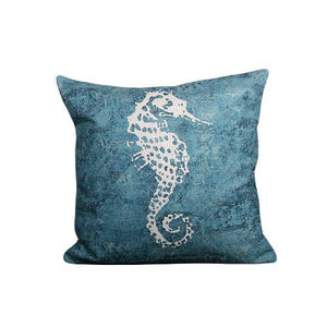 Nirvana Life pillows Under the Sea Handmade Linen Pillow Covers