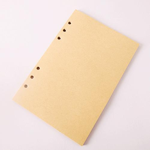 Nirvana Life Stationary Khaki Inner / Large 165x235mm Leather-back Anchor Journal