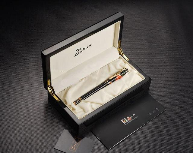 Nirvana Life Stationary Limited Edition 10k Gold/Silver Picasso Fountain Pen