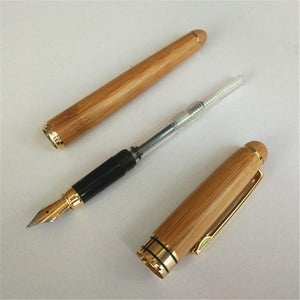 Nirvana Life Stationary Natural Bamboo Fountain Pen