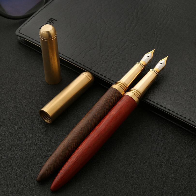 Nirvana Life Stationary Solid Wood 0.7mm Fountain Pen