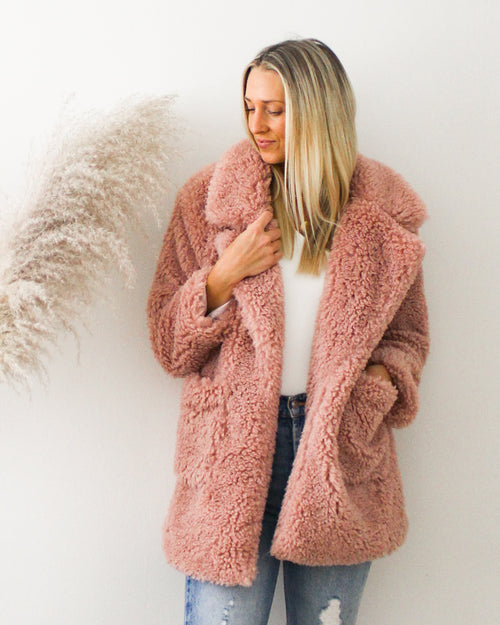 Pink Passion Coat