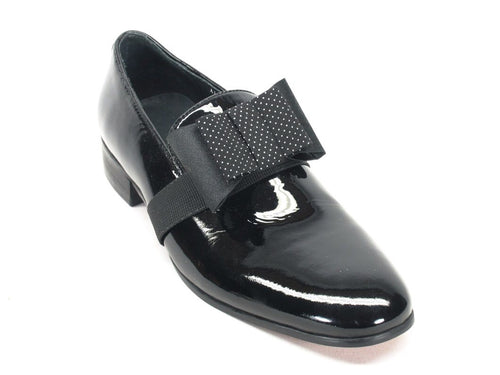 Men Formal Loafer (Removable Bow)