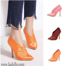 Pointy Toe- Orange