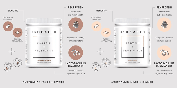 Our two new protein flavours!