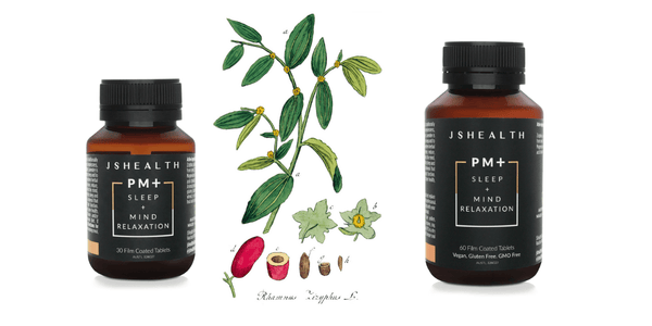 The new secret ingredient we've added to our PM+ Sleep + Mind Relaxation formula