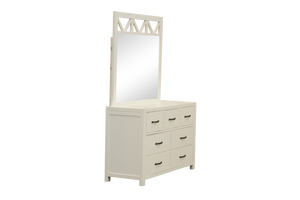 French Provence Dresser with Mirror