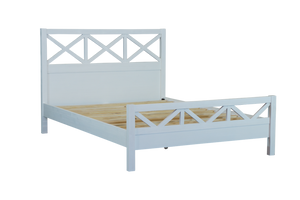 French Provence Queen Bed Frame